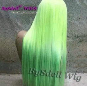 """Accessories - NEON OMBRE' 33+"""" LONG, LACE FRONT WIG"""